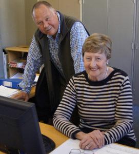 Frits Kok en Joan van der Westhuizen